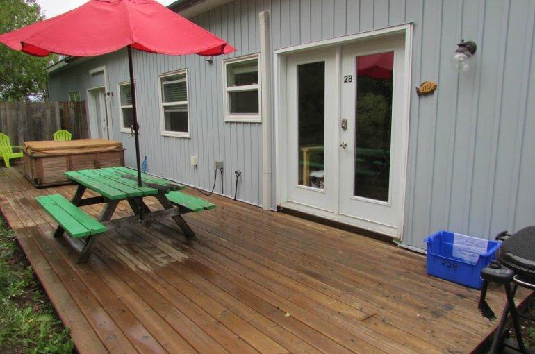 Cottage 28 Porch
