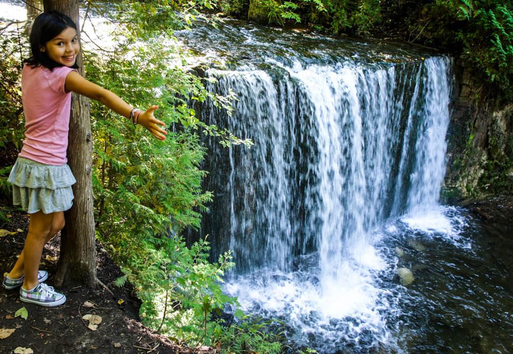 ontario waterfall